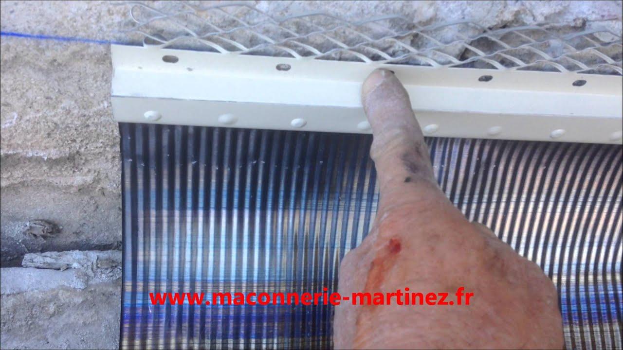 Comment Poser En Solin En Plomb Neuf Ou Rénovation  .maconnerie-Martinez.fr destiné Rouleau Plomb Castorama