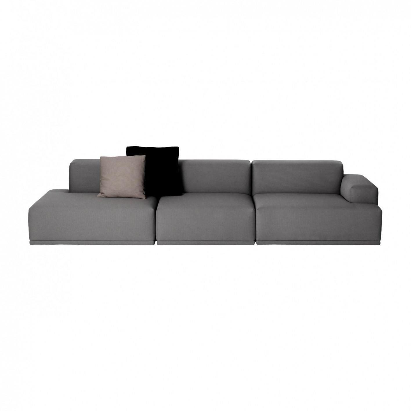 Connect Lounge - Canapé 3-Places encequiconcerne Canape Premium Confort