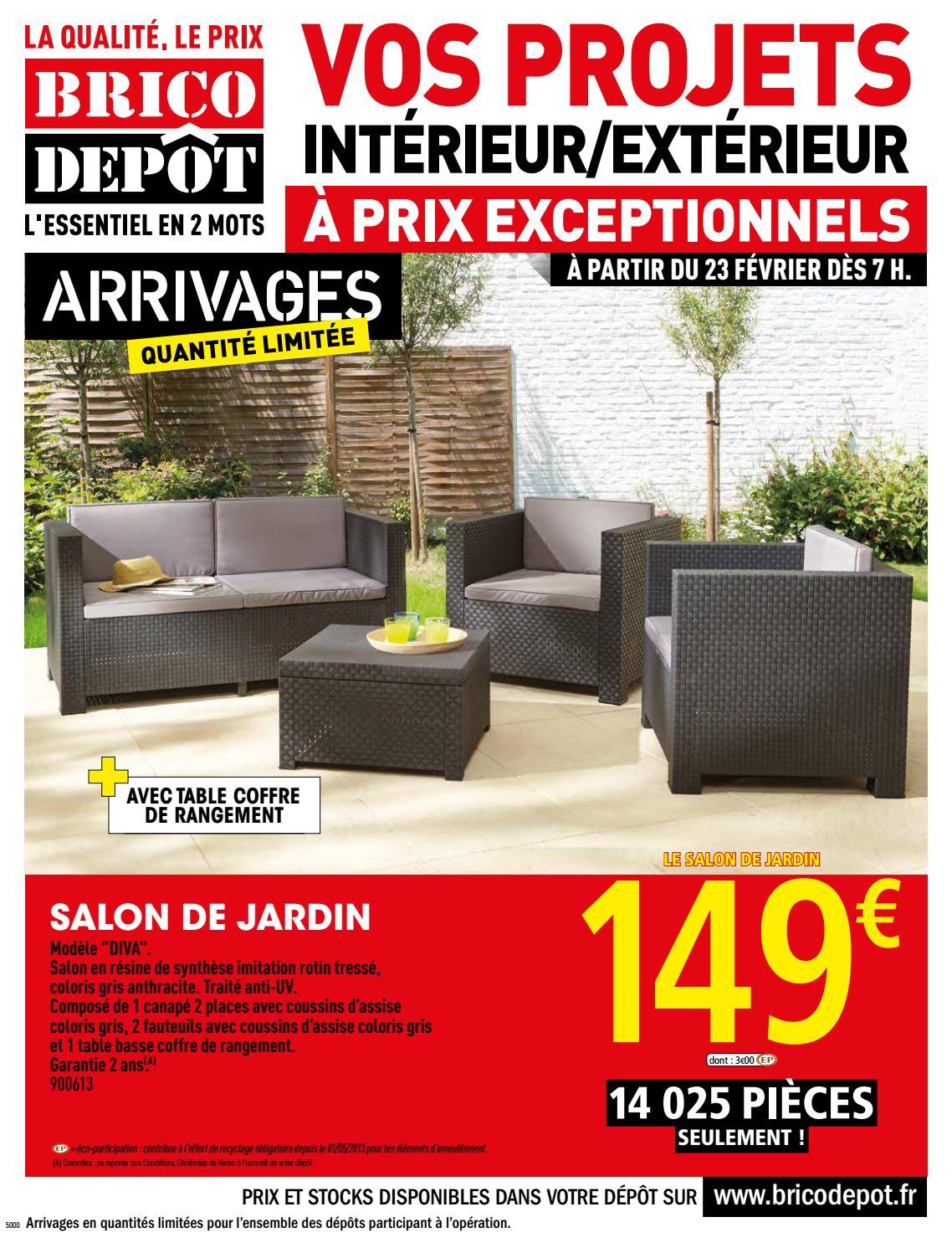 Dep230218 1 By Jan Deo - Issuu destiné Caillebotis Bois 50X50 Brico Dépôt