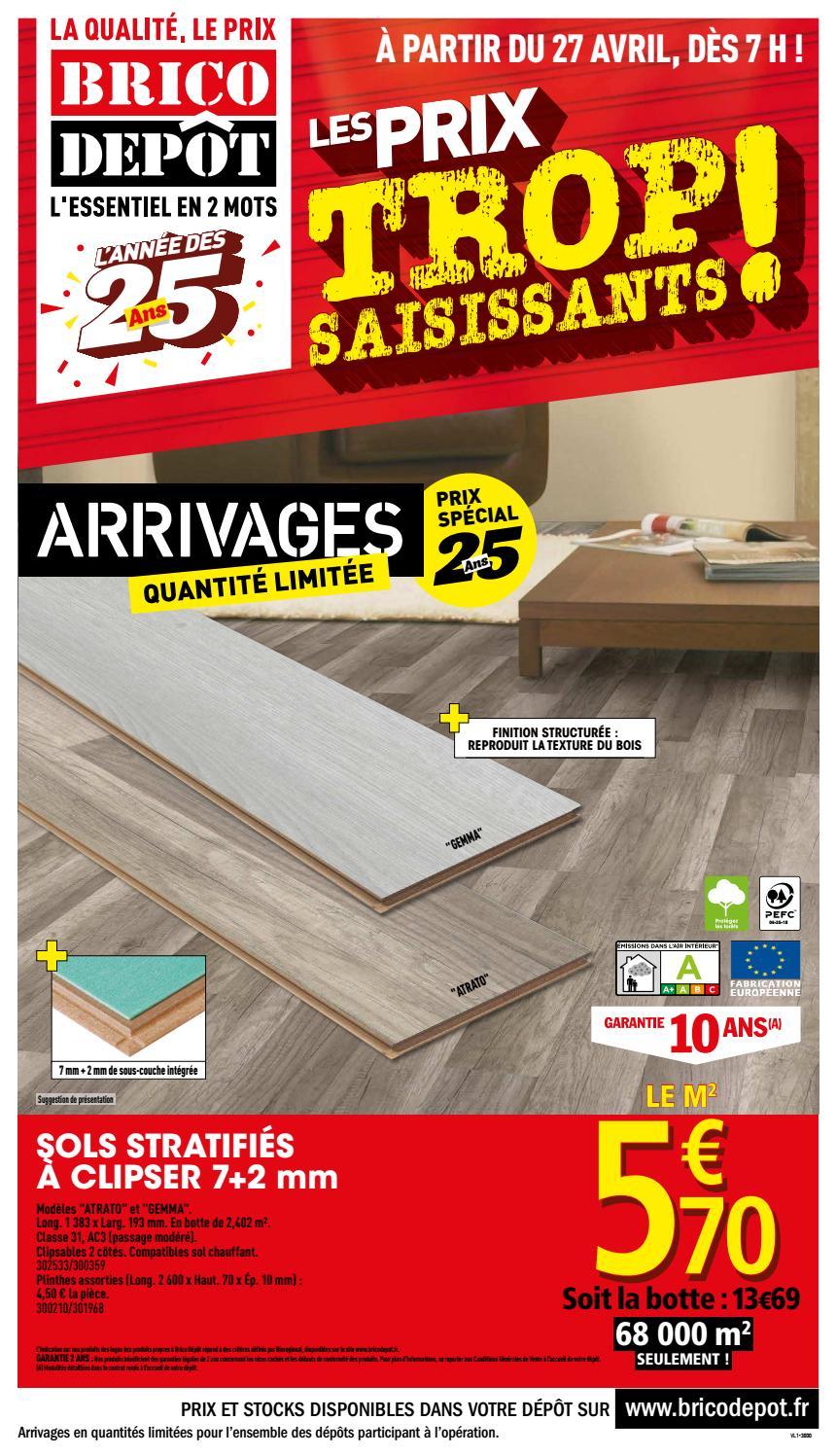 Dep270418 1 By Jan Deo - Issuu dedans Caillebotis Bois 50X50 Brico Dépôt