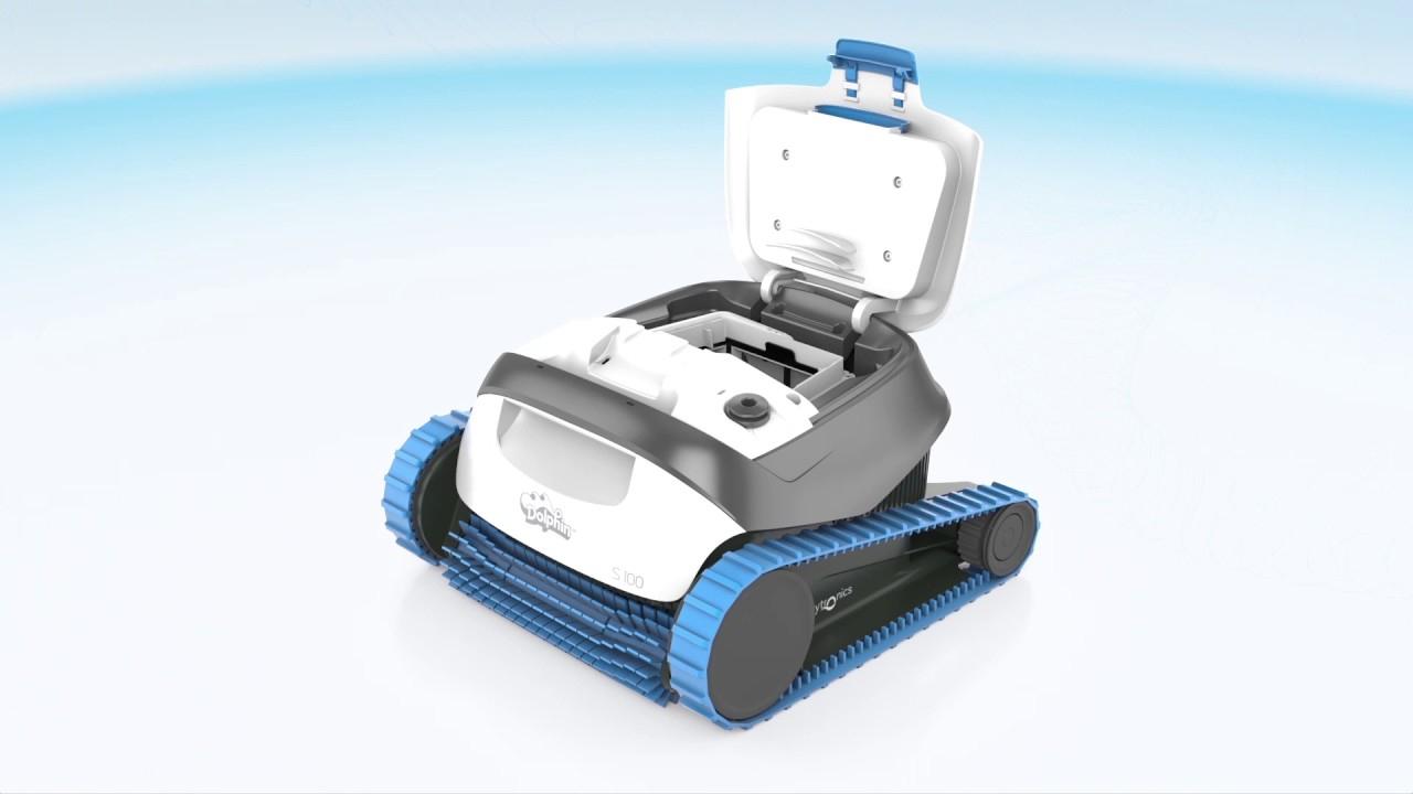 Dolphin S100 Features destiné Robot Piscine Dolphin S100