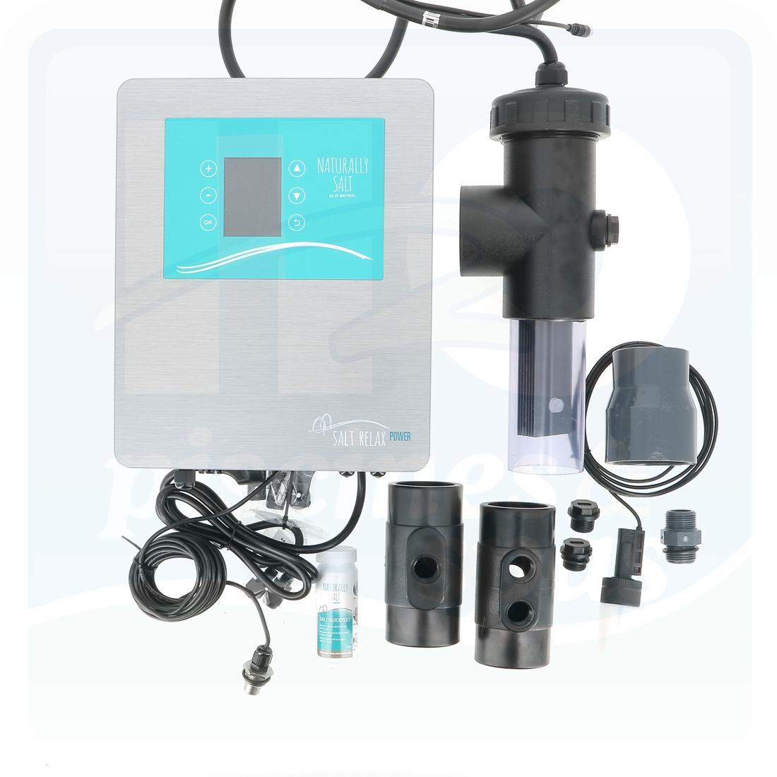 Electrolyseur Au Sel Bayrol Salt Relax Power Pour Piscine Jusqu'à 170 M3 -  H2O Piscines & Spas pour Electrolyseur Sel Piscine