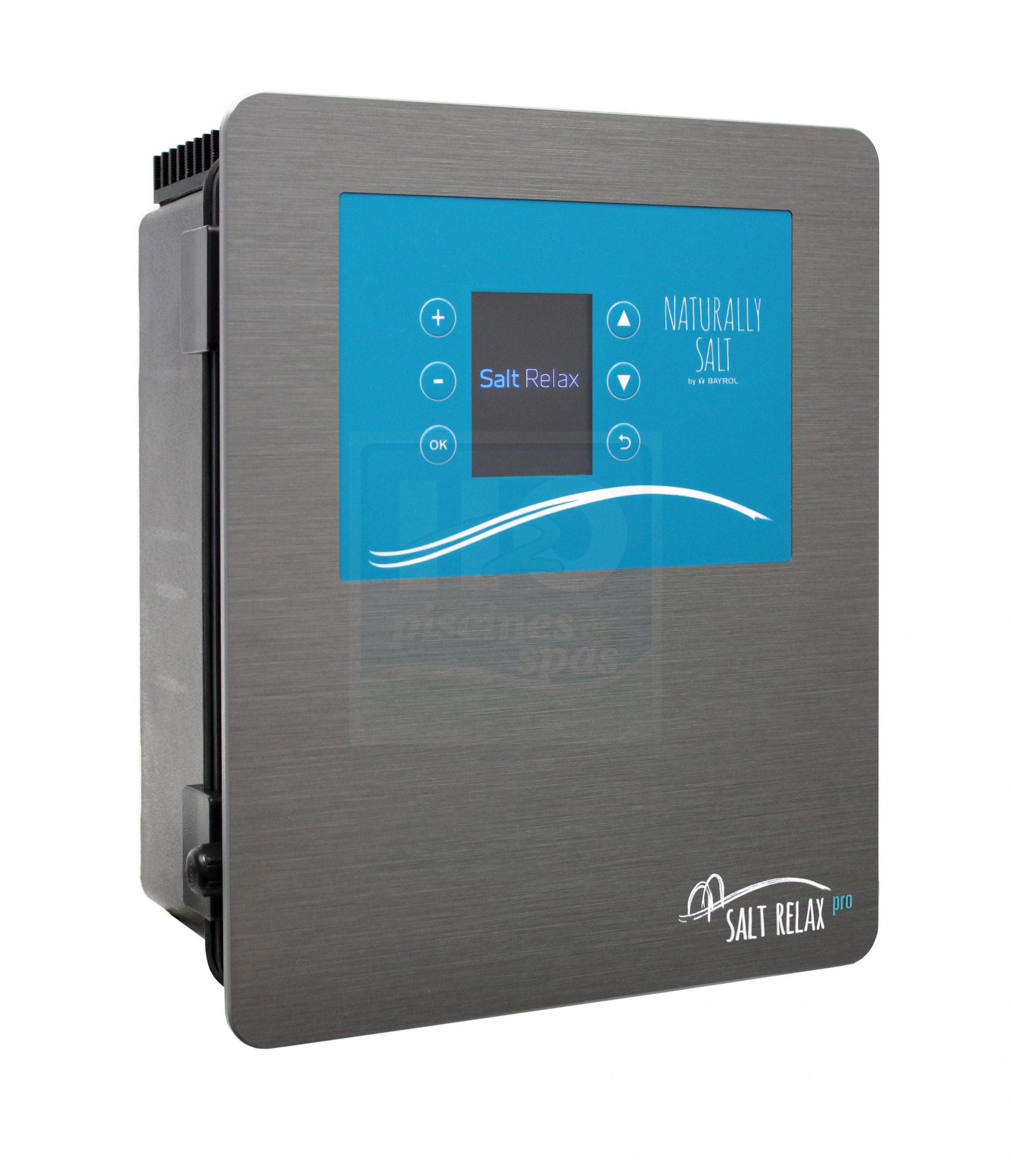 Electrolyseur Au Sel Bayrol Salt Relax Pro Pour Piscine Jusqu'à 70 M3 - H2O  Piscines & Spas serapportantà Electrolyseur Sel Piscine