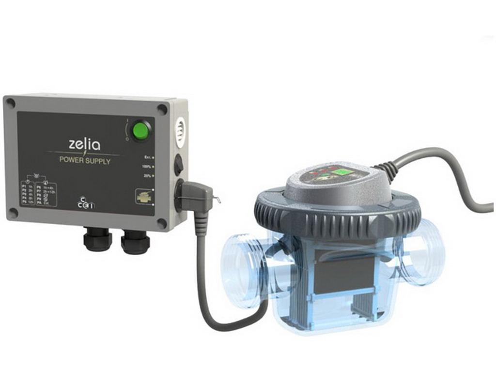 Electrolyseur Au Sel Zelia Zlt 75 Ccei Piscine 90M³ à Electrolyseur Sel Piscine