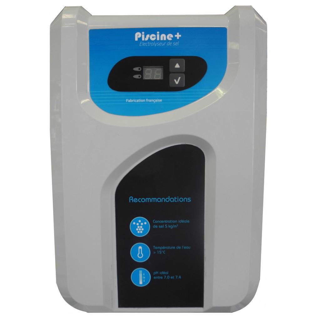Electrolyseur De Sel Piscine + 40 M3 (Contact Sec) concernant Electrolyseur Sel Piscine