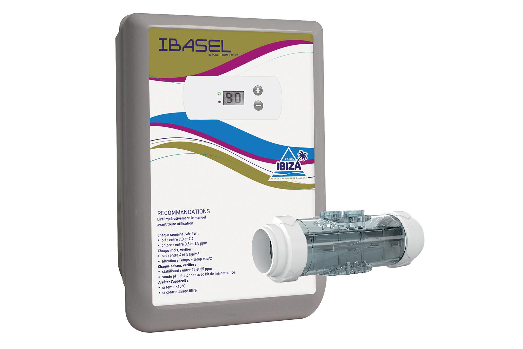 Électrolyseur Ibasel60 avec Electrolyseur Sel Piscine