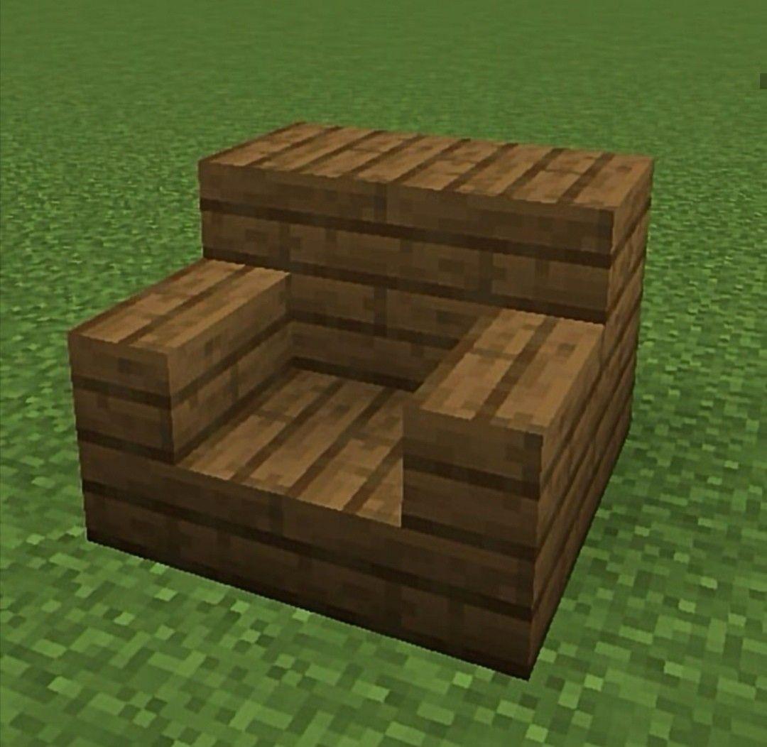Épinglé Sur Minecraft à Minecraft Canapé