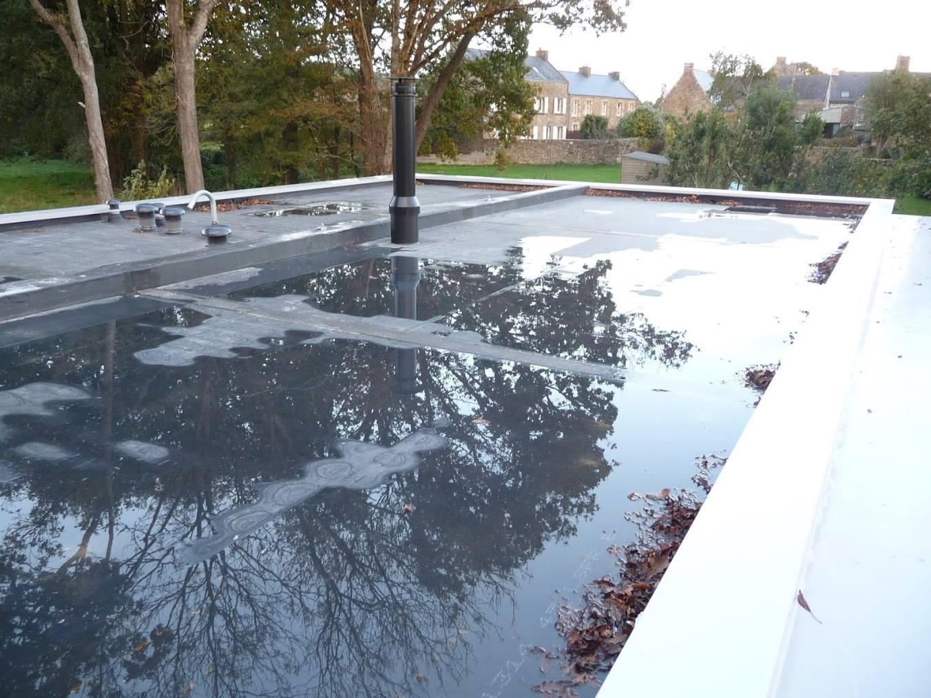 Etanchéité Toit-Terrasse Nantes (44) - Au Bac D'eau intérieur Isolation Toit Terrasse Nantes