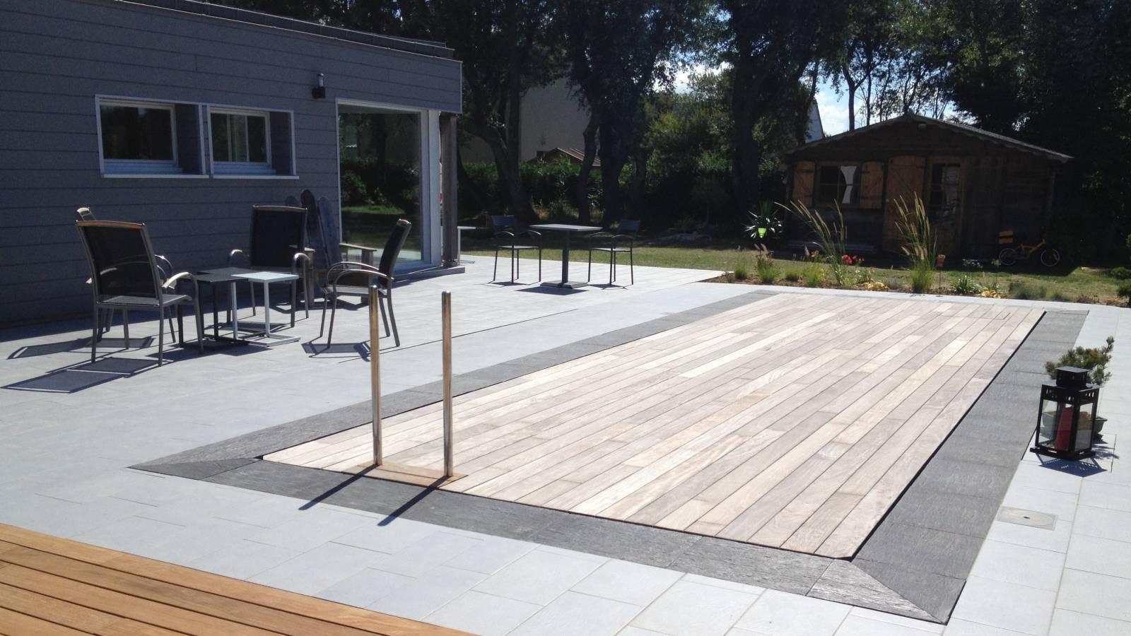 Fabricant De Piscine À Fond Mobile - Amphibia tout Fabriquer Une Terrasse Mobile Pour Piscine