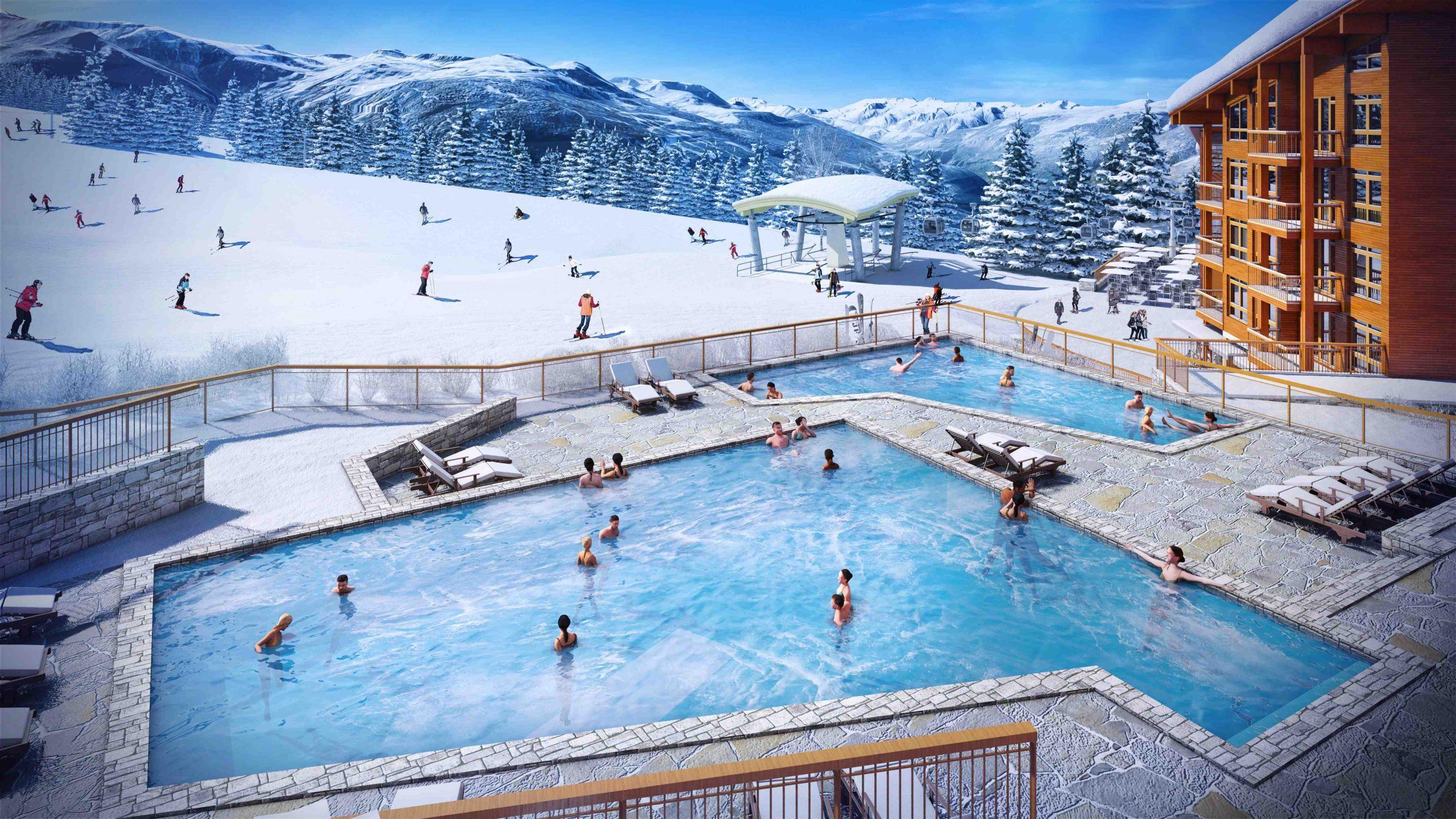 Familia Investissements intérieur Piscine Les Deux Alpes