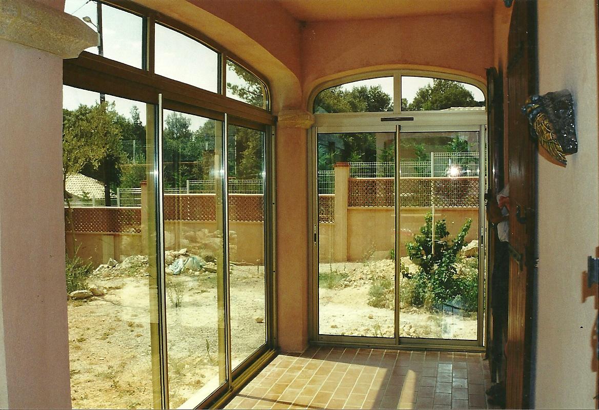 Fermeture De Terrasse Couverte Marseille - Technic Habitat encequiconcerne Terrasse Couverte Fermée
