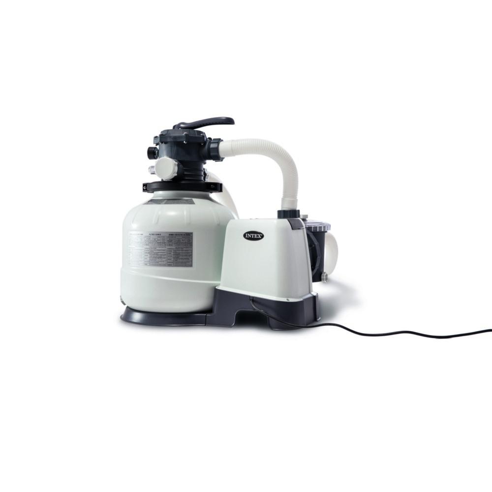 Filtre À Sable Intex 8M³/h Pour Piscine Jusqu'à 56M³ encequiconcerne Sable Pour Pompe Piscine