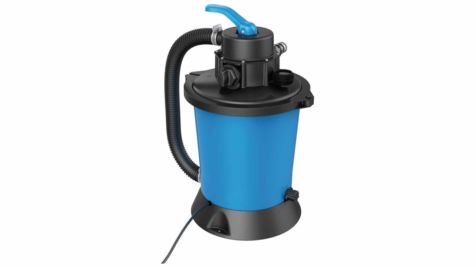 Filtre À Sables + Pompe Intégrée 3 M3/h Spécial Piscine Hors Sol avec Sable Pour Pompe Piscine