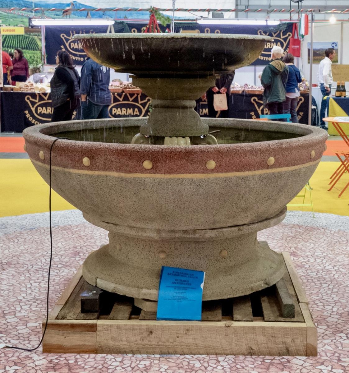 Fontaine À Débordement Art Deco - Antiquités Du Jardin ... avec Fontaine De Jardin A Debordement