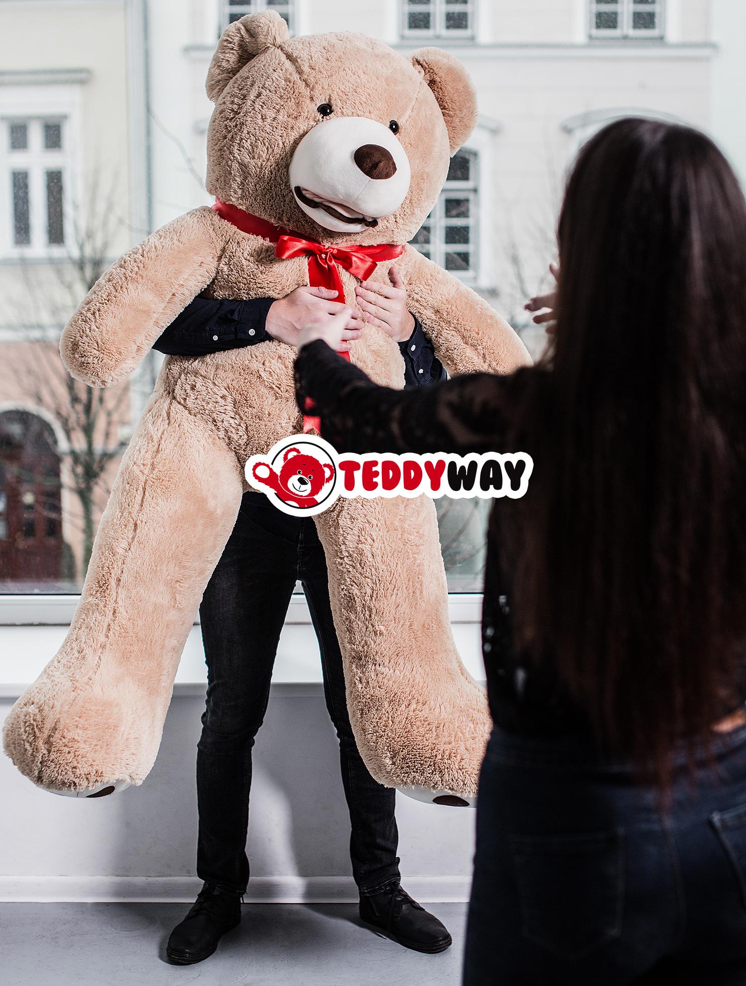 Giant Teddy Bear - Big Teddy Bear - Xxl Huge Stuffed Bears ... serapportantà Code Promo Tediber