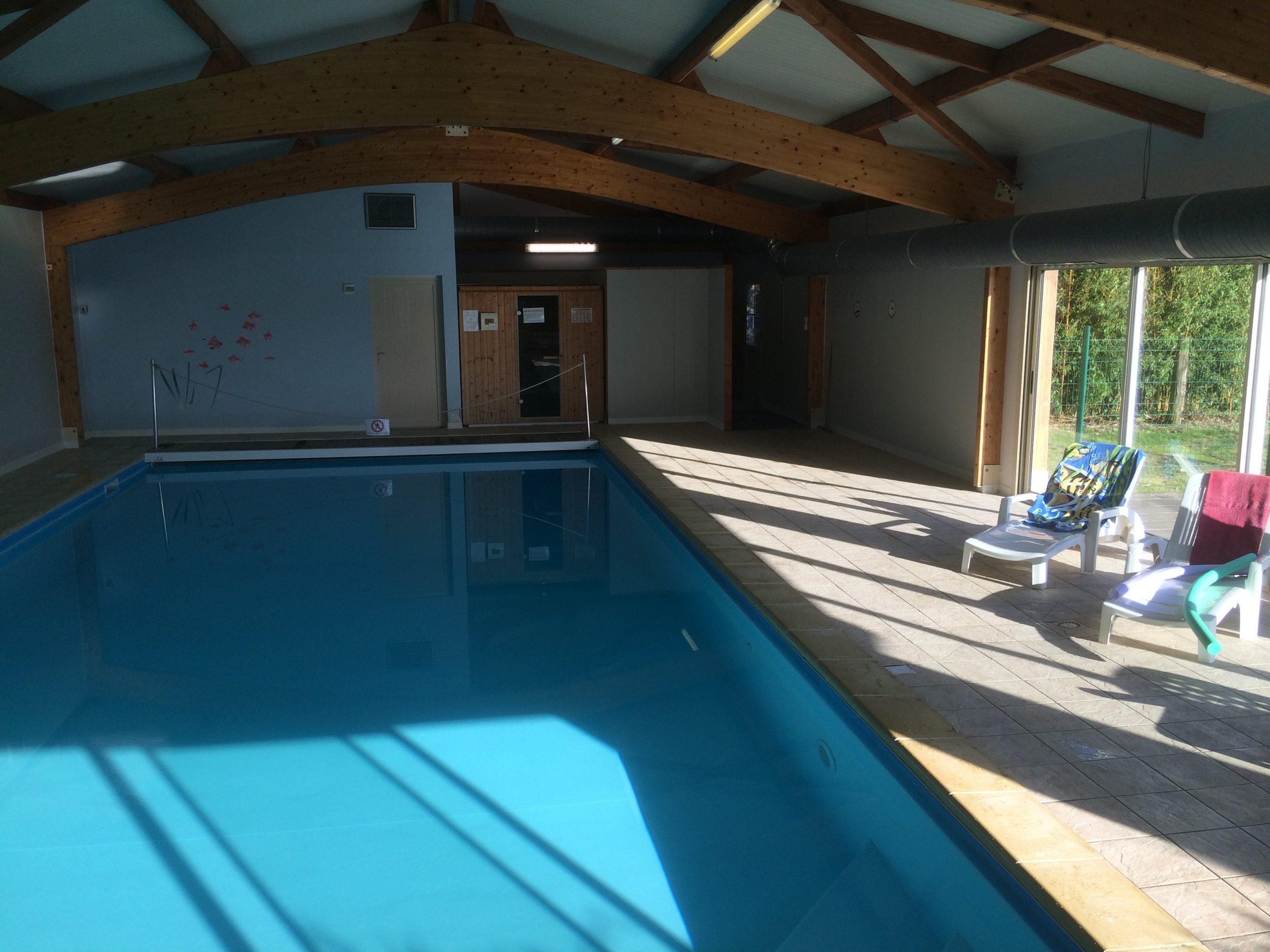 Gites Du Parc D'albosc - Gites En Normandie Grande Capacité ... intérieur Piscine Bolbec