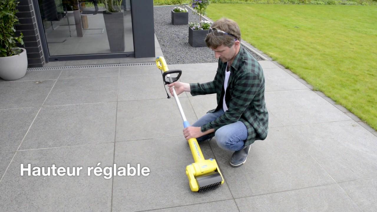 Gloria Multibrush Speedcontrol - Nettoyage Et Entretien Des Surfaces destiné Nettoyage Terrasse Bois Karcher