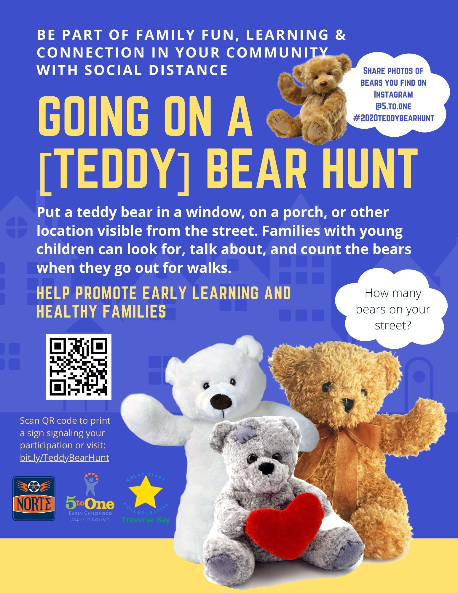 Going On A [Teddy] Bear Hunt destiné Code Promo Tediber