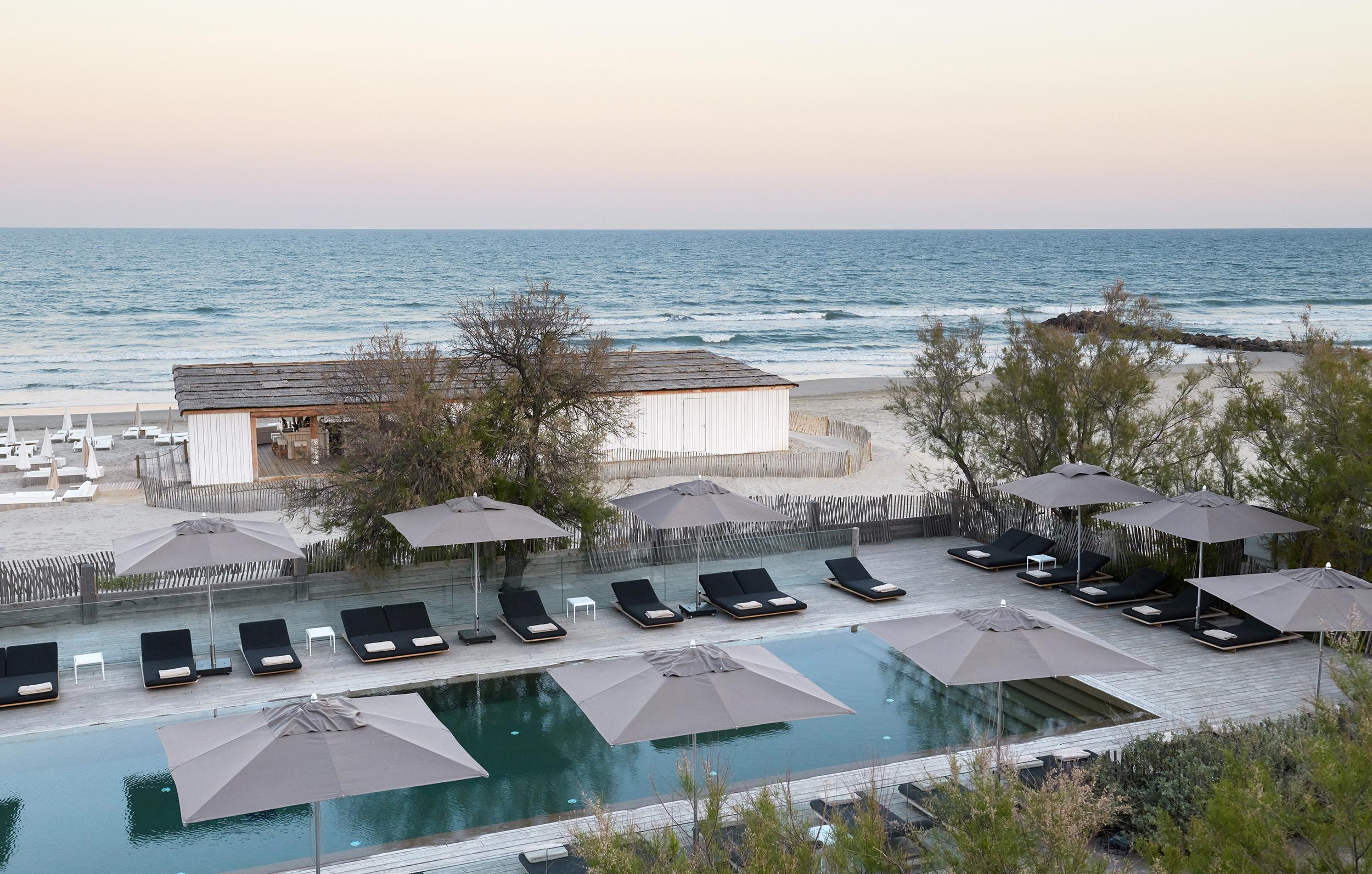 Hôtel Luxe Palavas-Les-Flots | Plage Palace, 5 Étoiles intérieur Hotel Avec Piscine Montpellier