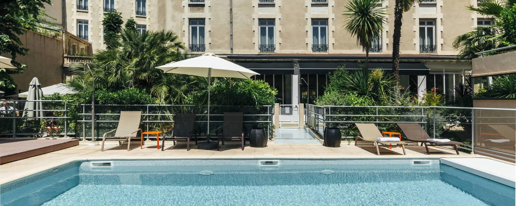 Hôtel Oceania Le Métropole Montpellier ***** Montpellier intérieur Hotel Avec Piscine Montpellier