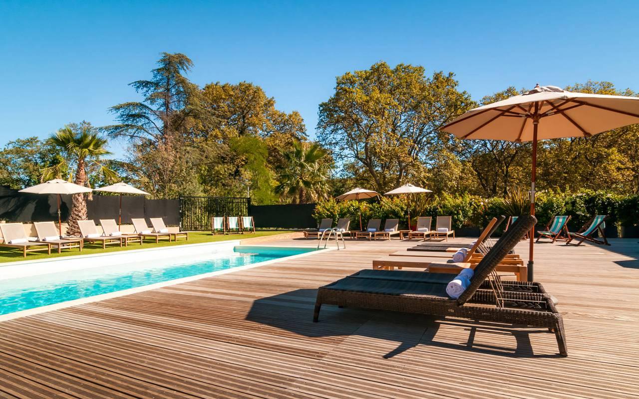 Hôtel Spa De Fontcaude   Hôtel 4 Étoiles Juvignac Montpellier à Hotel Piscine Montpellier