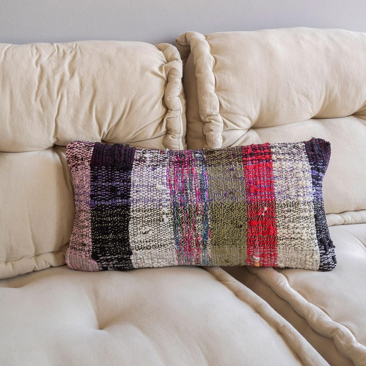 Housse De Coussin Ankara Multicolore Nº6 destiné Coussins Originaux Pour Canapé