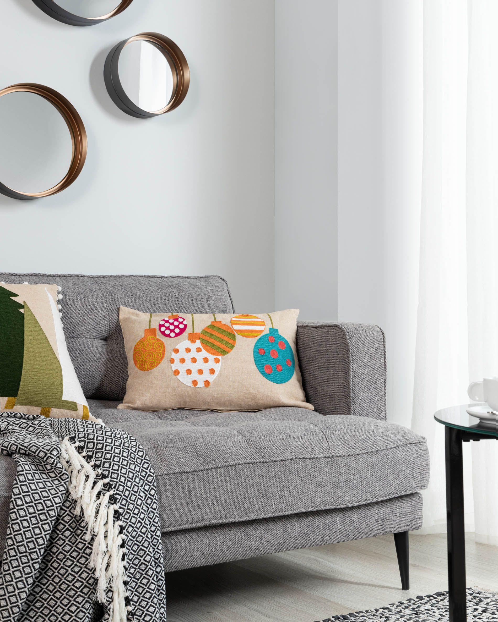 Housse De Coussin Simon 30 X 50 Cm | Kave Home® destiné Coussins Originaux Pour Canapé