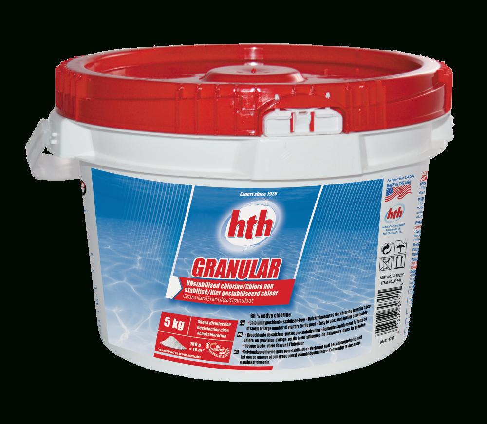 Hth Granular destiné Produit Piscine Hth
