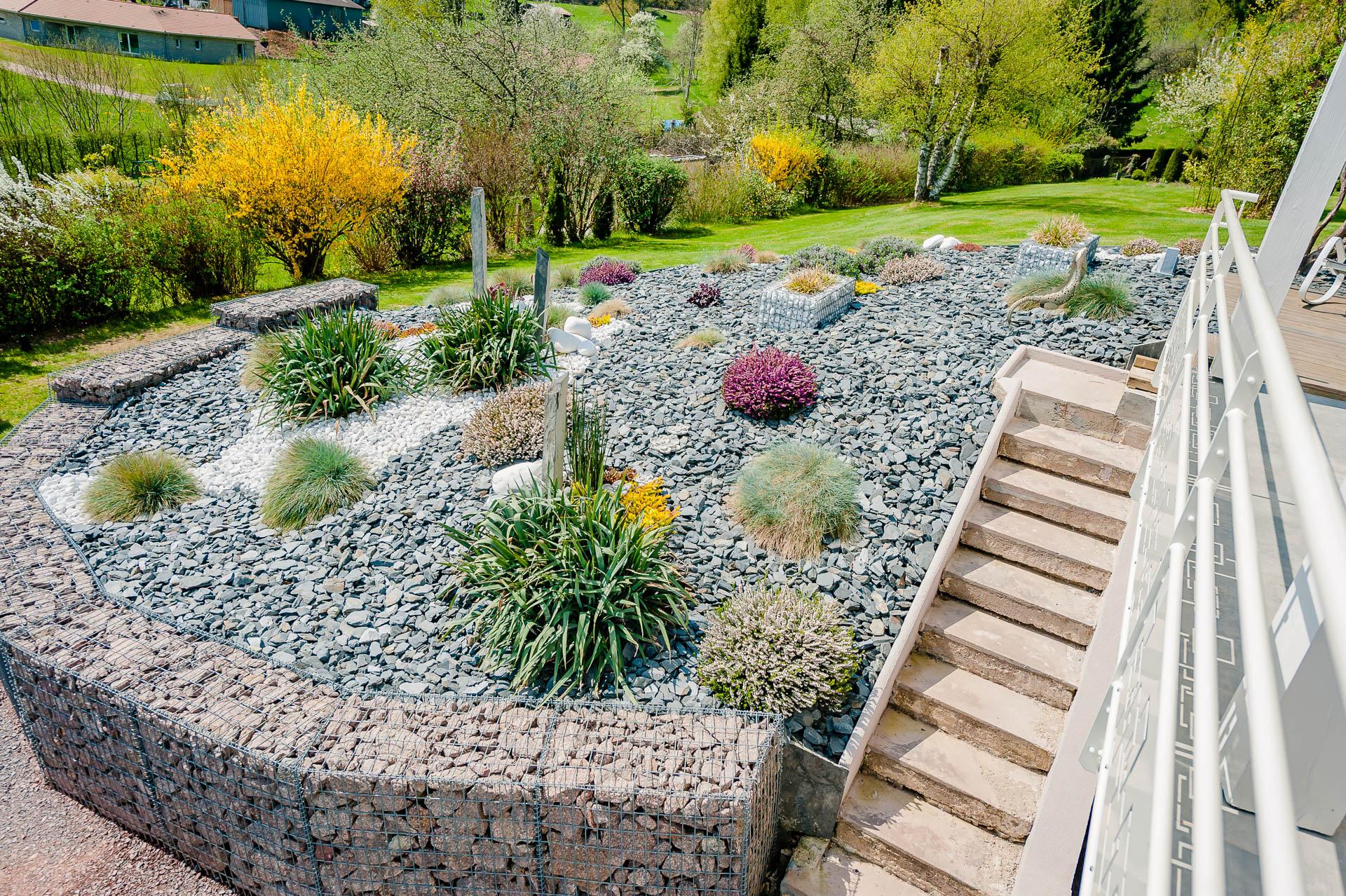 Idée D'aménagement De Jardin Dans Les Vosges - Agrovosges pour Massif Decoratif Exterieur