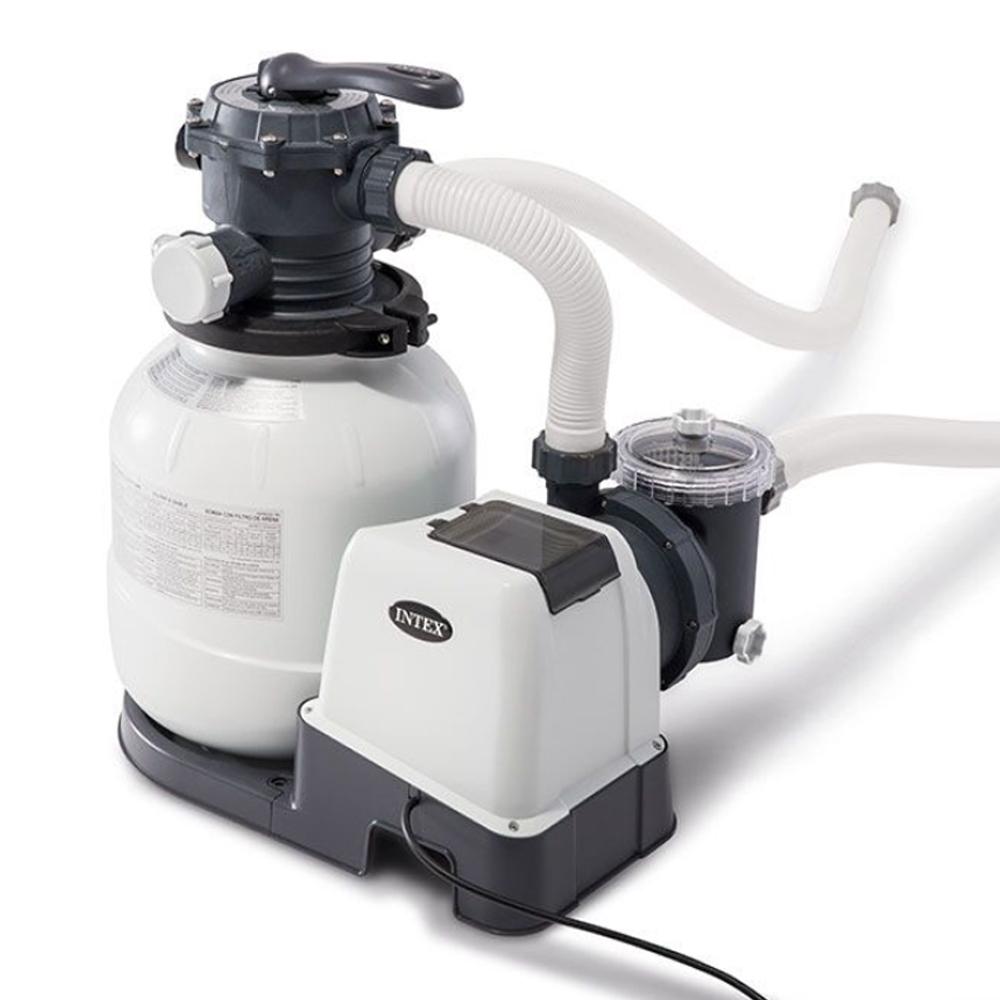 Intex Groupe De Filtration Et De Stérilisation | Piscine ... tout Sable Pour Pompe Piscine