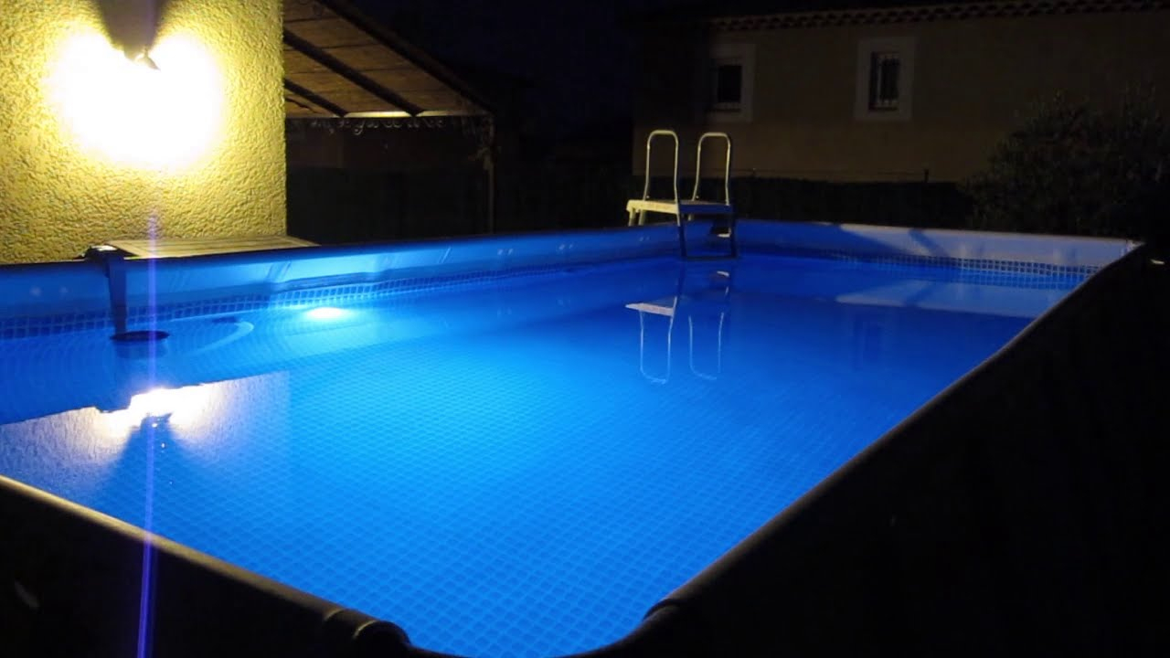 Intex Led Light, Eclairage Piscine Intex à Spot Piscine Led Multicolor