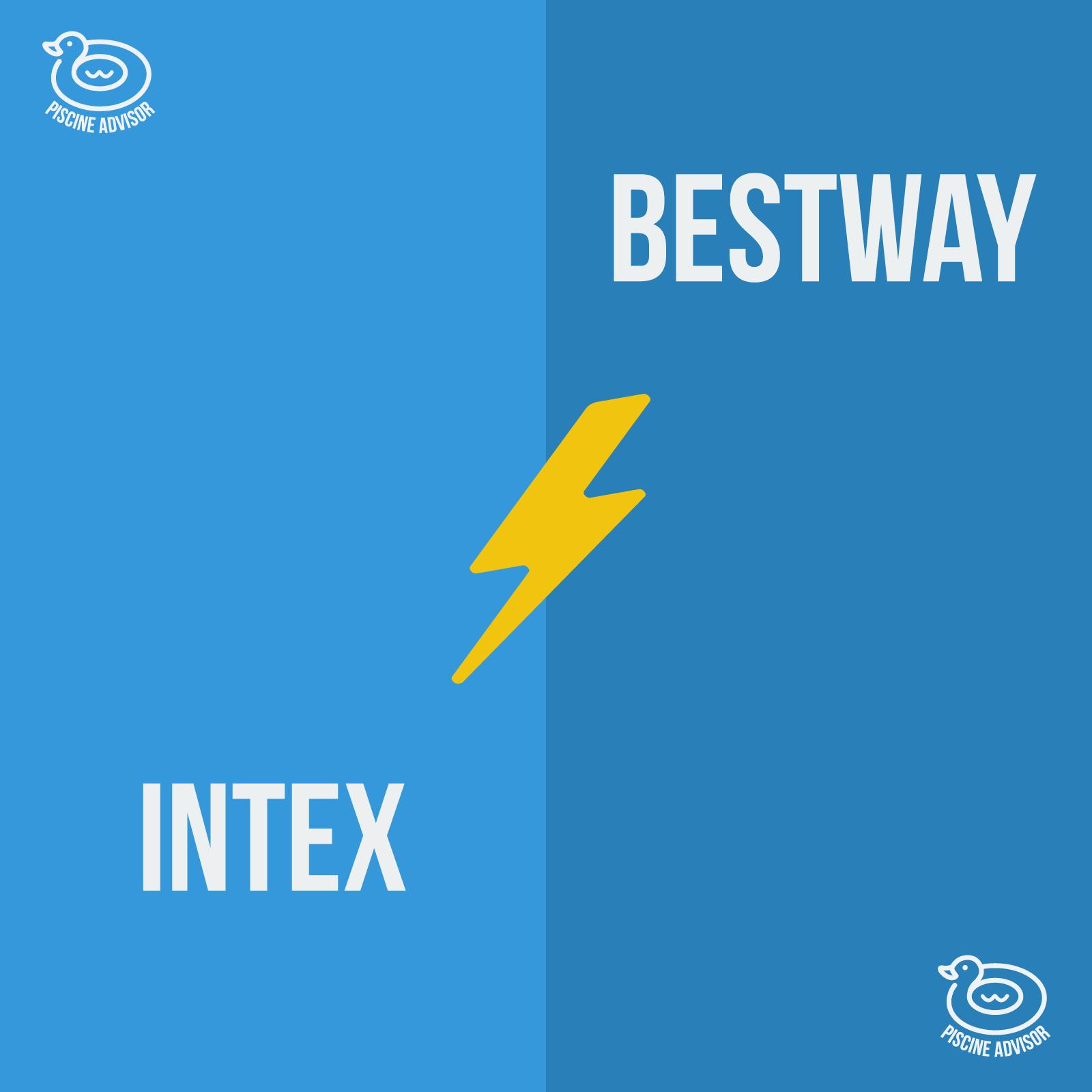 Intex Ou Bestway : Quelle Différence Entre Les Deux Marques ... tout Piscine Tubulaire Ou Autoportée