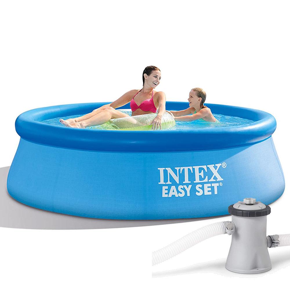 Intex Telone Per 262 X 175 & 305 X 183 Cm Piscine Centro ... encequiconcerne Piscine Familiale Intex