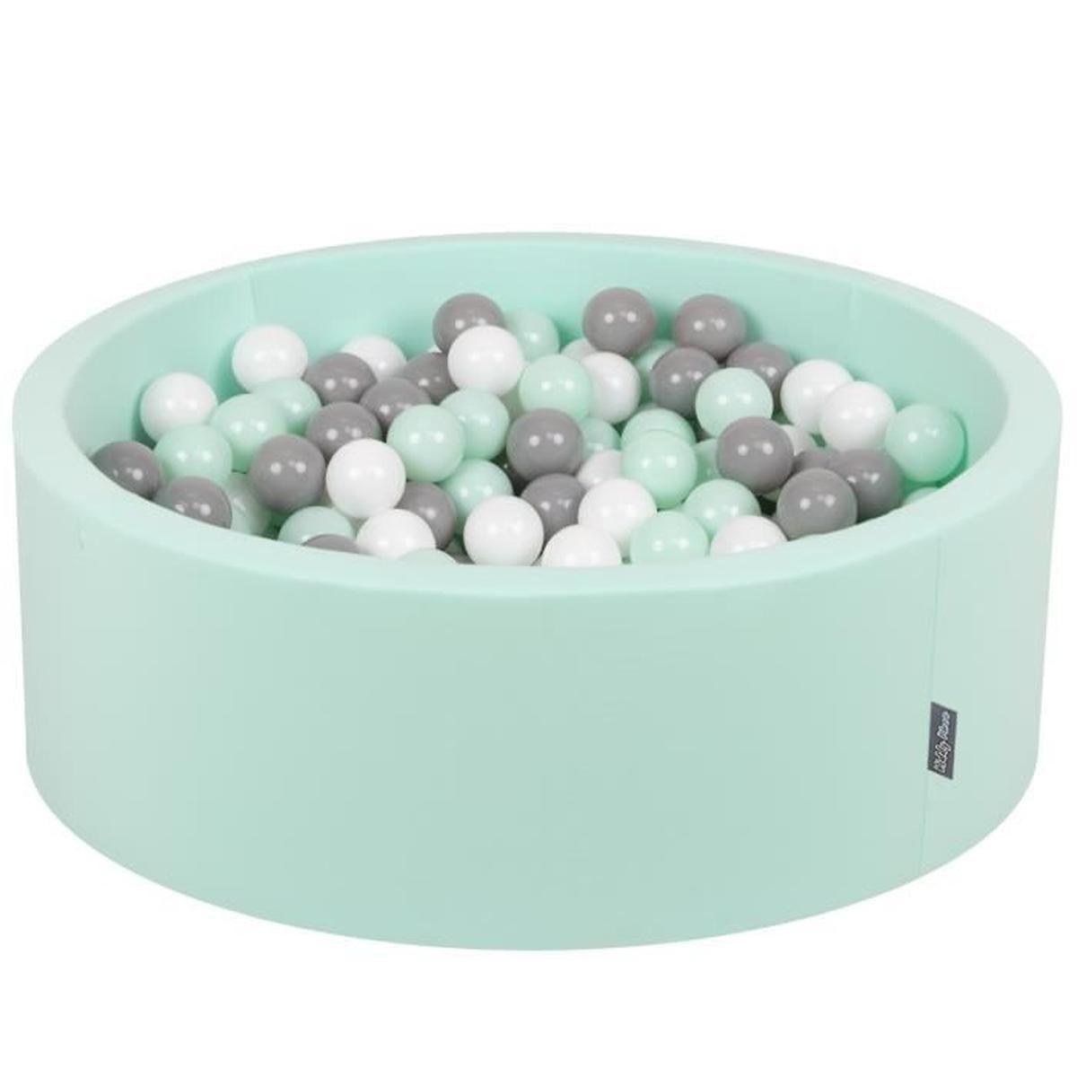 Kiddymoon 90X30Cm/200 Balles ∅ 7Cm Piscine À Balles Pour ... avec Piscine A Balle En Mousse