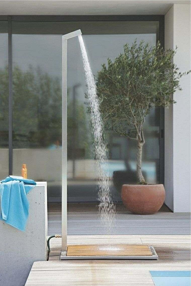 La Douche De Jardin Pour Les Amoureux De La Nature pour Douche Pour Piscine