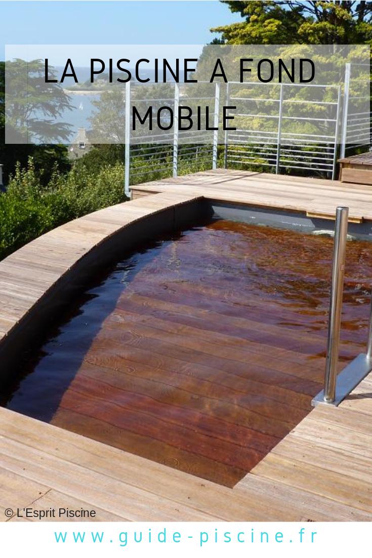 La Piscine À Fond Mobile   Terrasse, Piscine, Terrasse Beton avec Fond Mobile Piscine