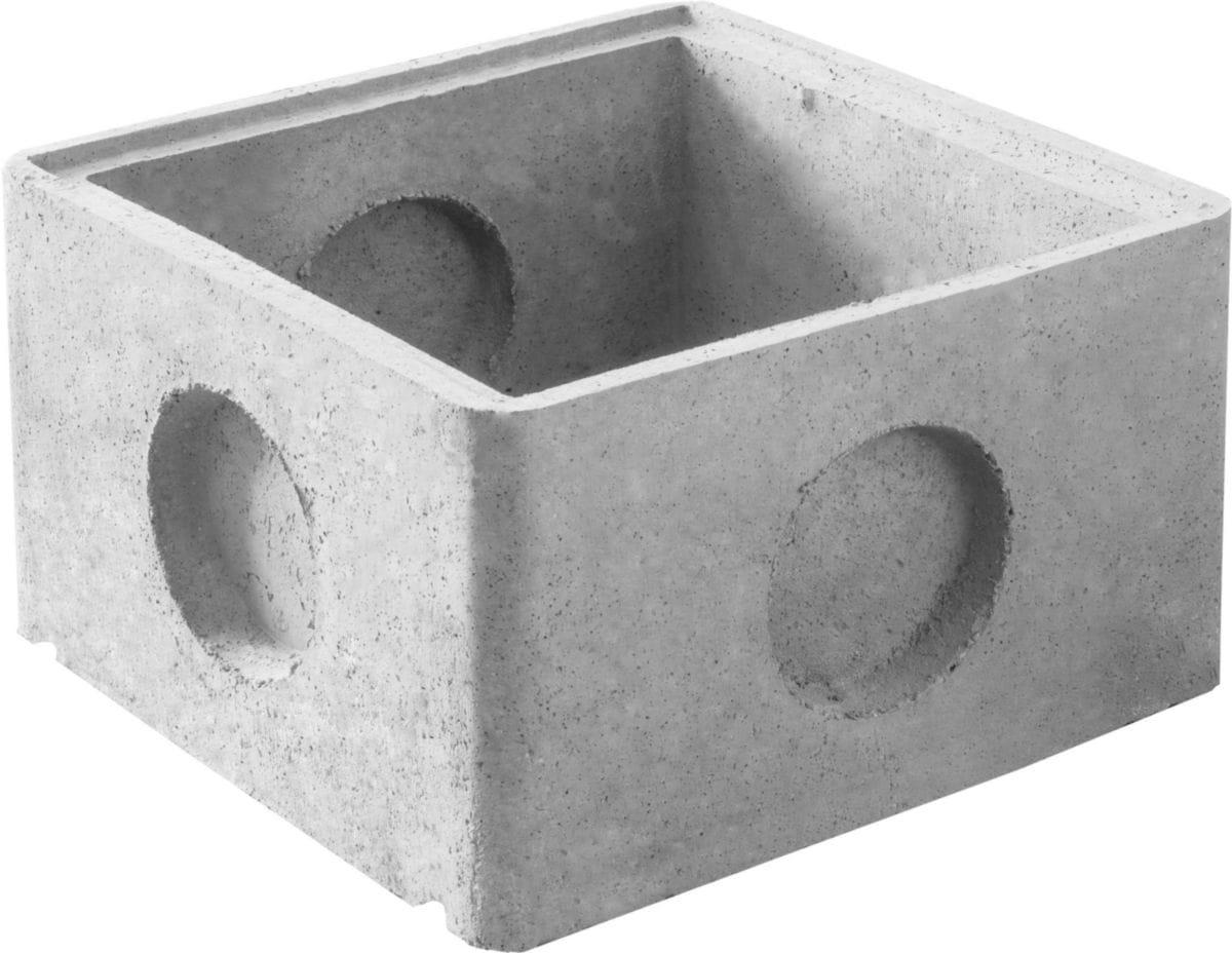 Legouez - Réhausse Béton Avec Emboîtement Rh50 - Pour Regard ... encequiconcerne Regard Beton 50X50