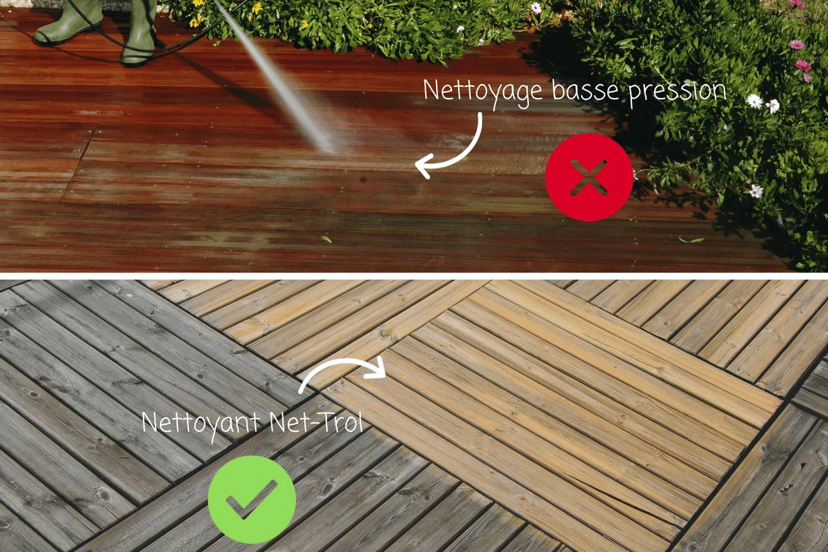 L'entretien Des Terrasses En Bois Exotique Et Composite ... tout Nettoyage Terrasse Bois Karcher