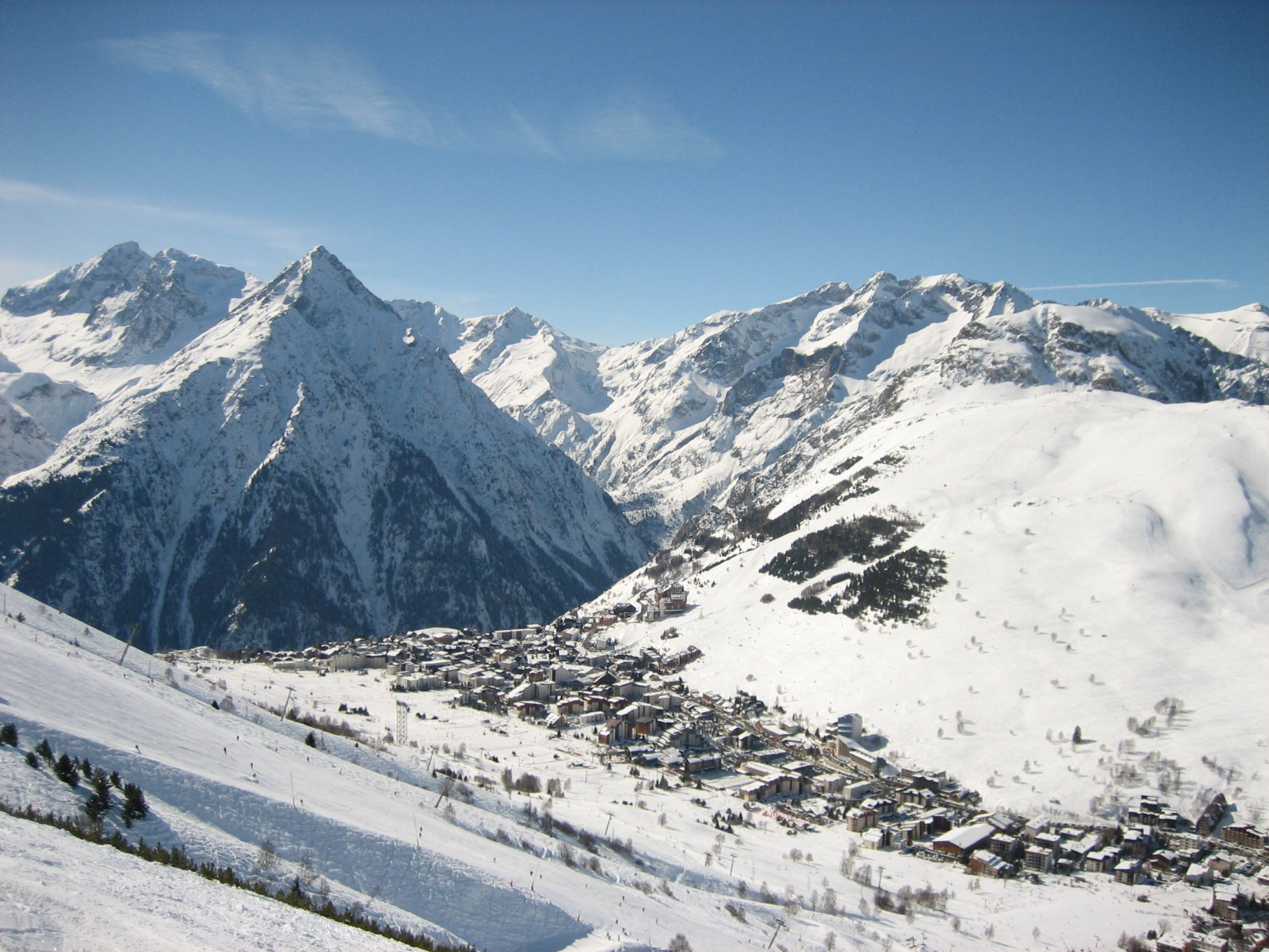 Les Deux Alpes — Wikipédia intérieur Piscine Les Deux Alpes