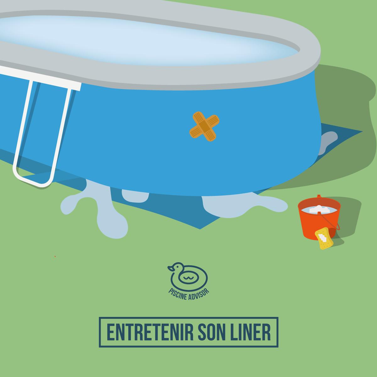 Liner Piscine Hors Sol: Entretien Et Prévention Des Fuites ... à Piscine Tubulaire Ou Autoportée