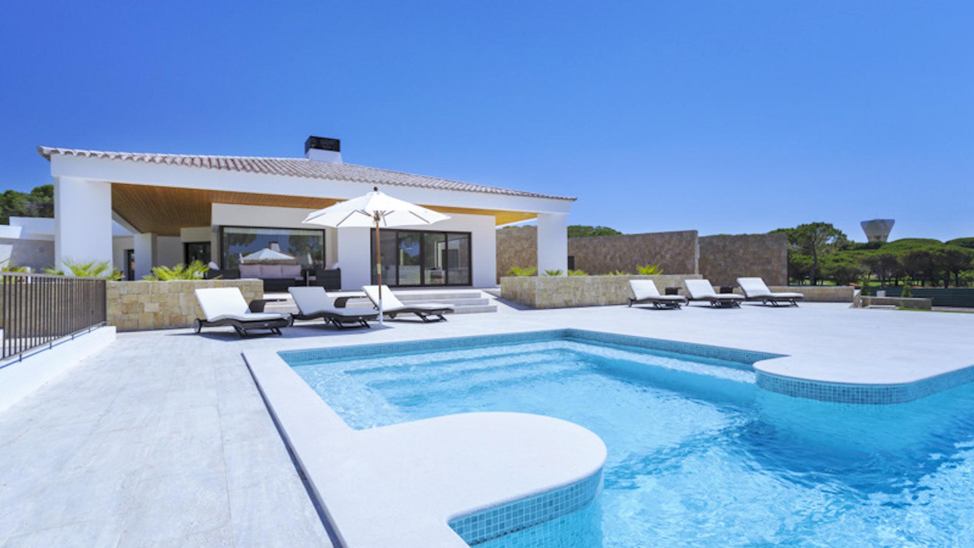 Location Villa De Luxe Vilamoura Algarve Portugal: Le Top tout Location Maison Portugal Piscine