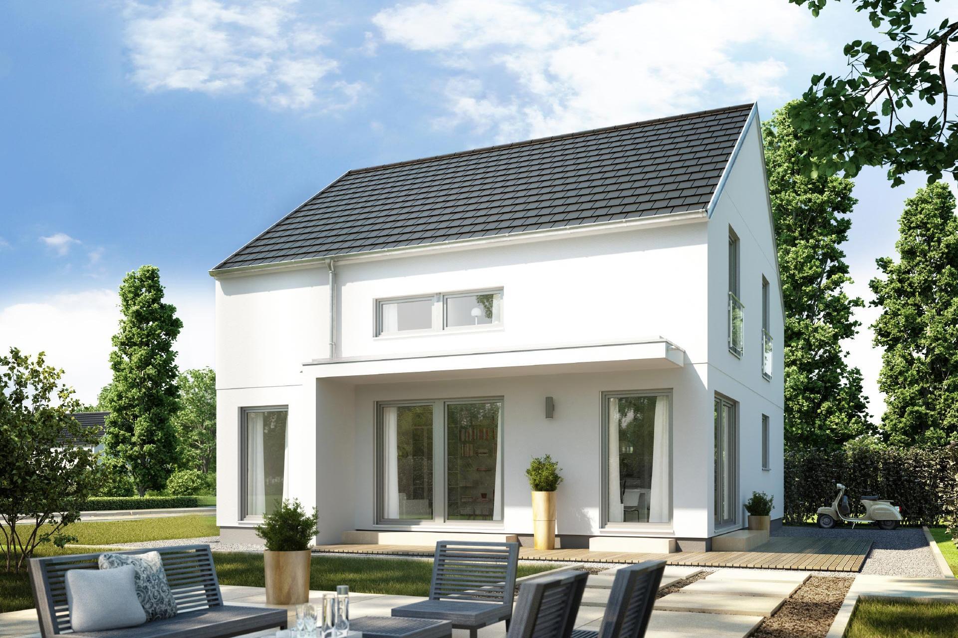 Maison Avec Terrasse Couverte   E 15-149.8   Schwörerhaus concernant Maison Avec Terrasse Couverte