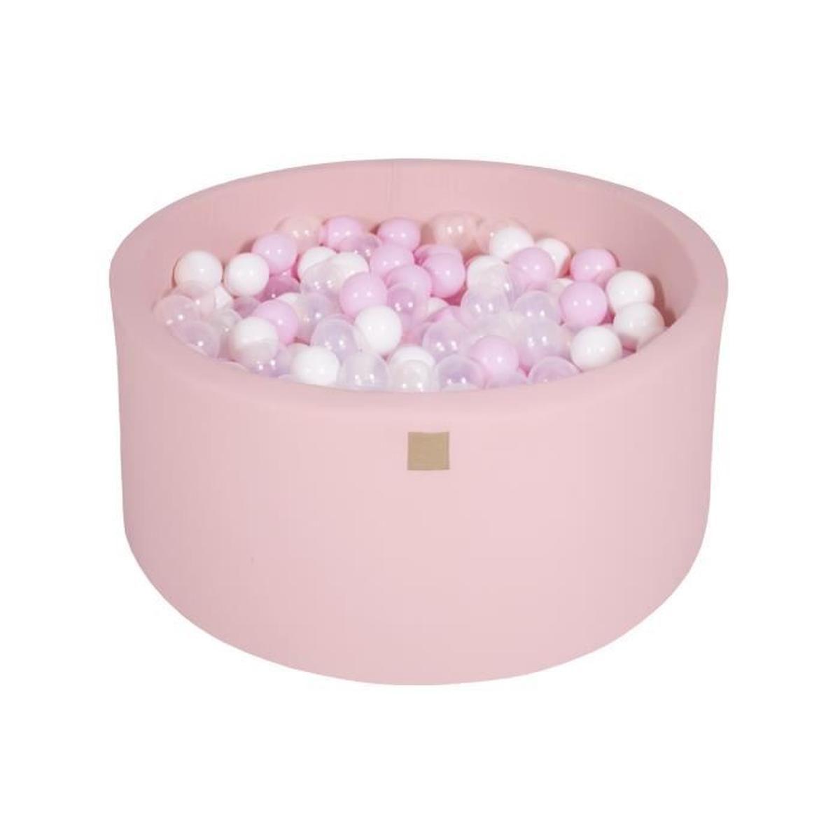 Meowbaby 90X40Cm/300 Balles ∅ 7Cm Piscine À Balles Pour ... tout Piscine A Balle En Mousse