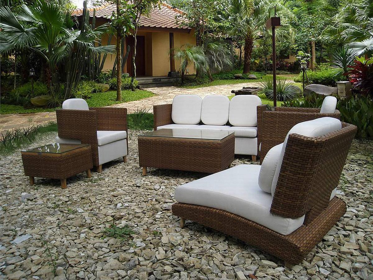 Mobilier D'extérieur, Salon De Jardin, L'appel De L'été ... destiné Salon De Jardin D Occasion Particulier