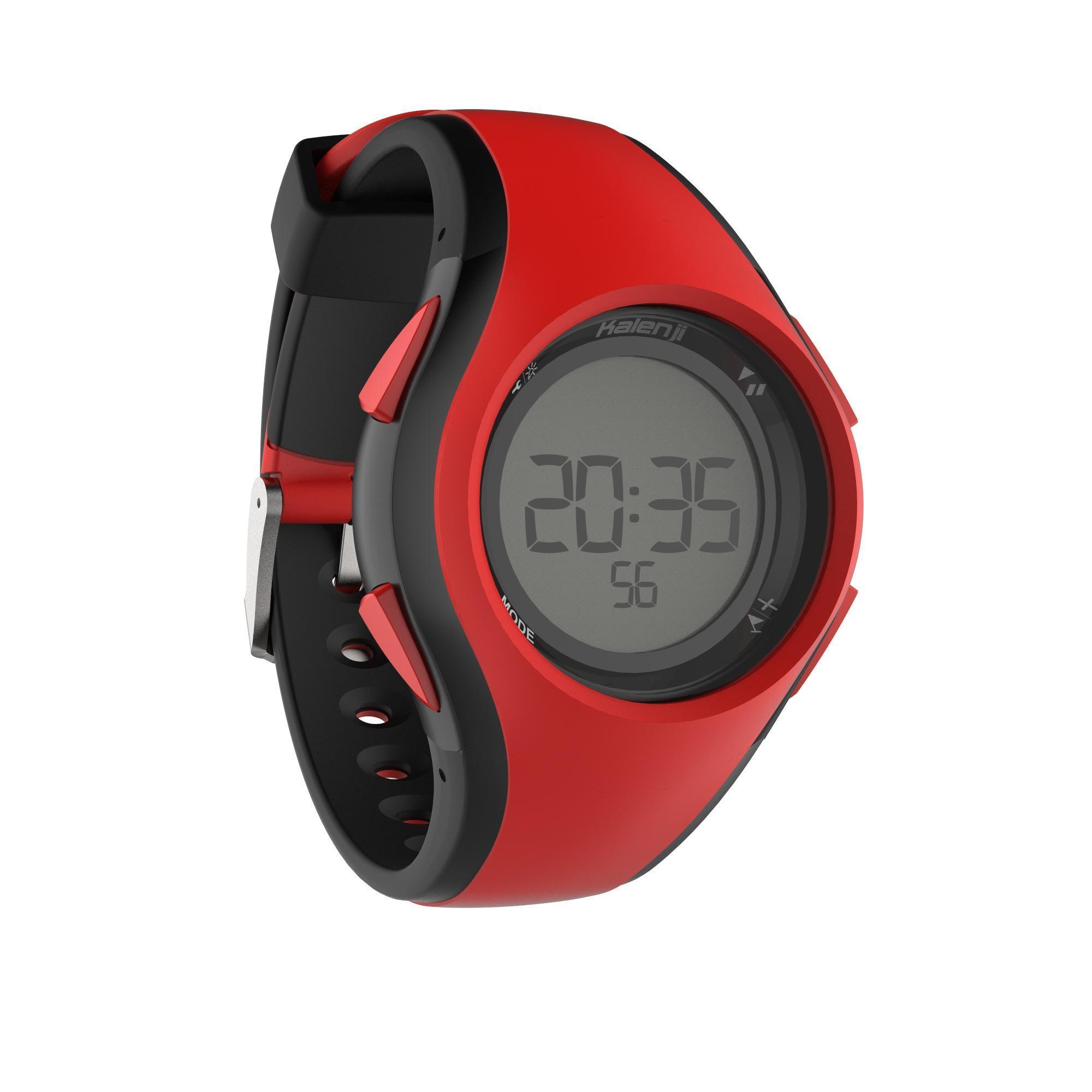 Montre Chronomètre De Course À Pied W200 M Noire Kiprun ... concernant Bracelet Alarme Piscine Decathlon