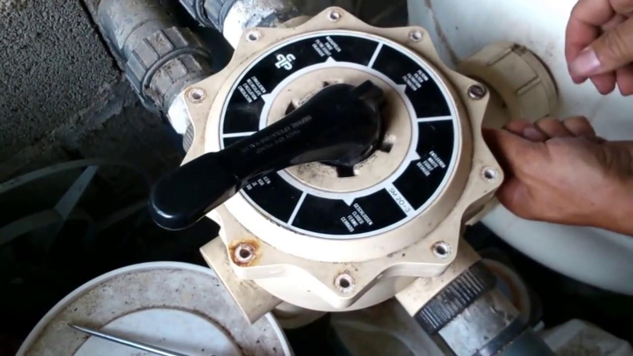 Multiway Valve Seal destiné Demontage Vanne 6 Voies Piscine