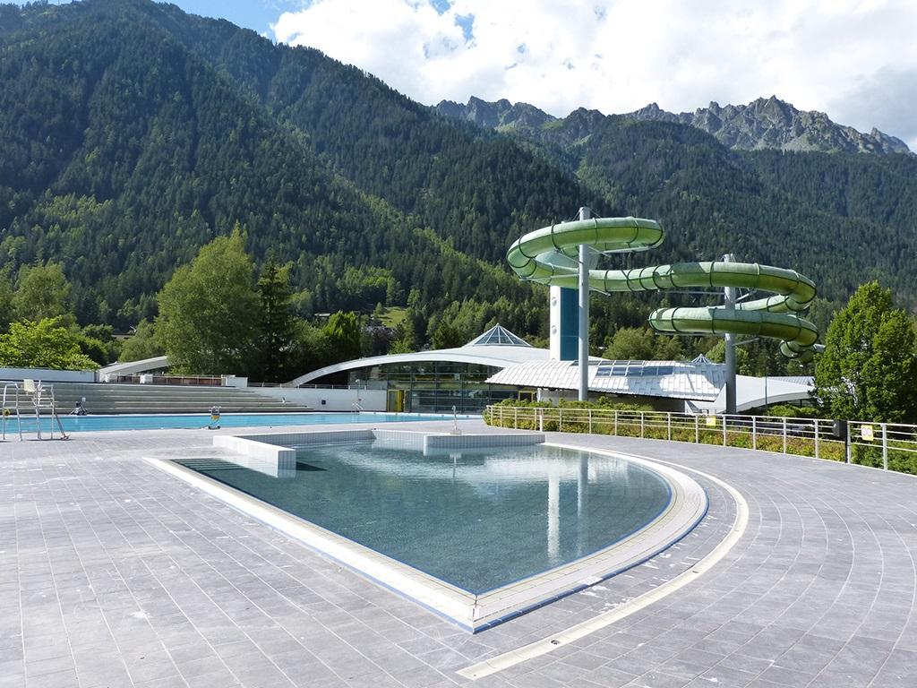 Ouverture Des Bassins Exterieurs De La Piscine De Chamonix ... tout Chamonix Piscine