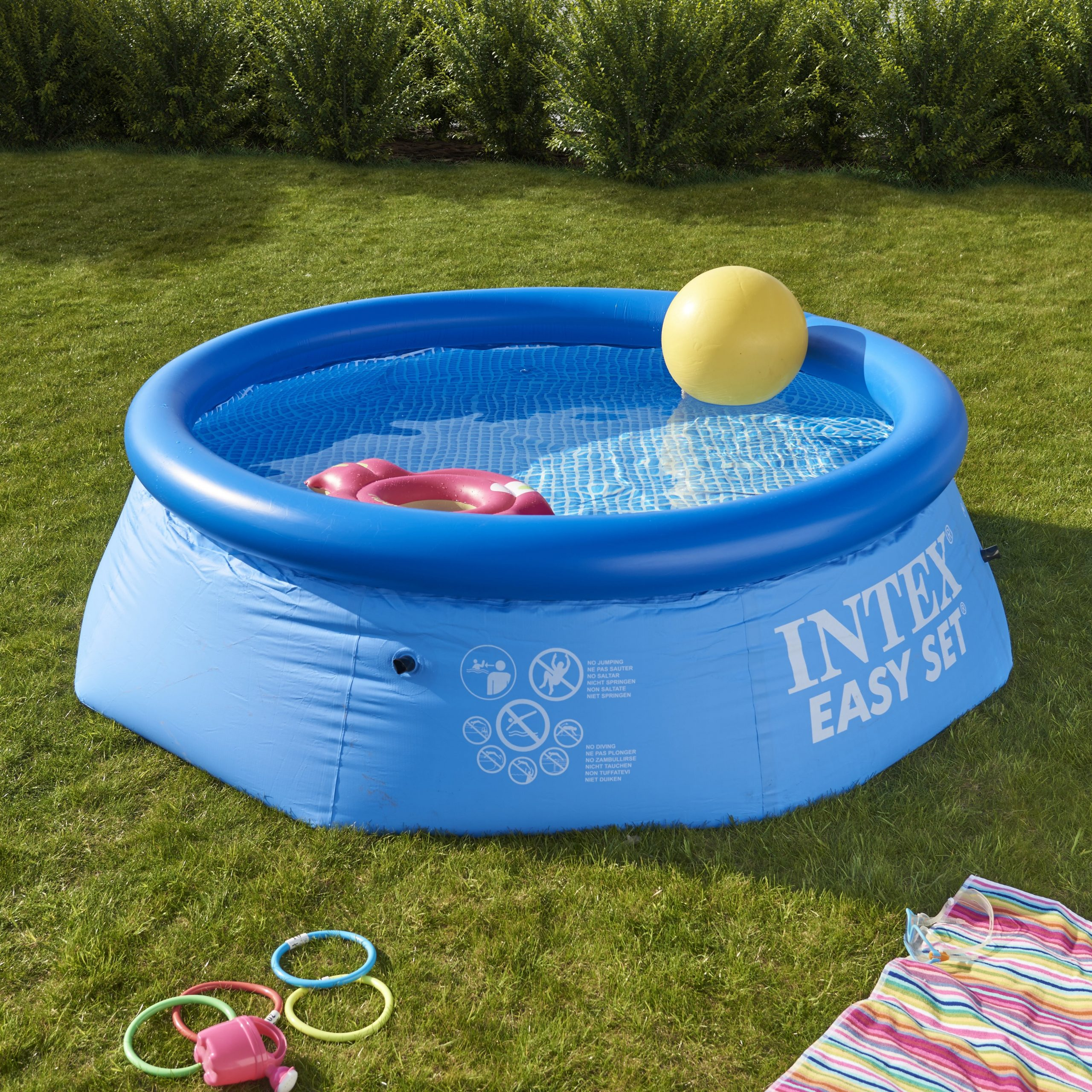 Piscine Autoportante Intex Easy Set Diam. 2.44 M X H. 0.76 M serapportantà Prix Piscine Intex