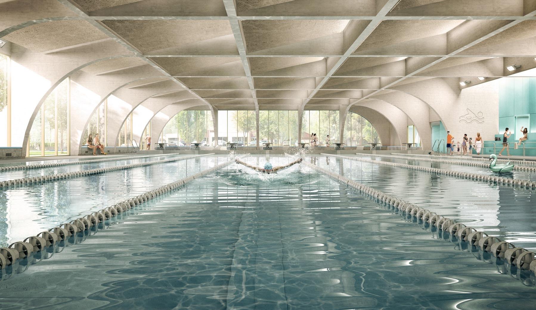 Piscine - Bourgoin-Jallieu (38) - Z Architecture concernant Piscine Bourgoin Jallieu