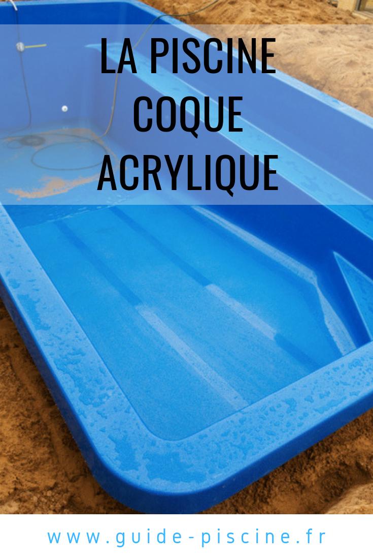 Piscine Coque Acrylique : Une Piscine Coque Résistante Et ... concernant Prix Piscine Coque Acrylique